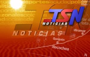 Escenografía Noticiero TSN Mediodía 2007