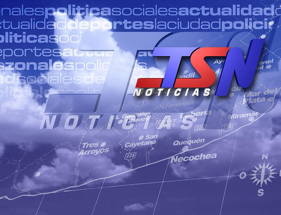 Escenografía Noticiero TSN Noche 2007